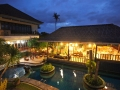 aerial view of budget hotel in sanur