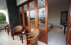 balcony deluxe room, sanur hotel