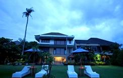 sanur resort hotel, garden view