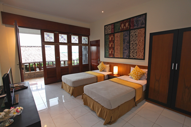 twin deluxe sanur hotel