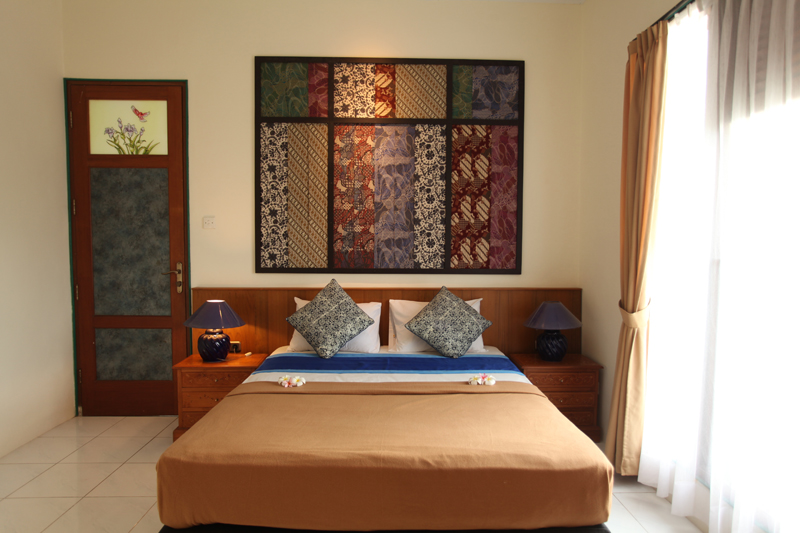 junior suite room,  bali hotels sanur, double bed