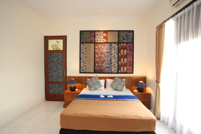 sanur seaview hotel, junior suite room