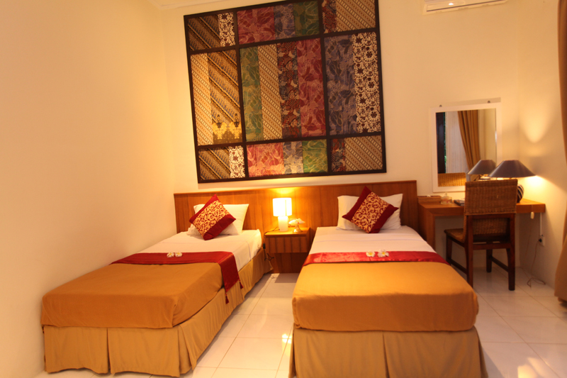 twin superior rooms sanur bali hotel